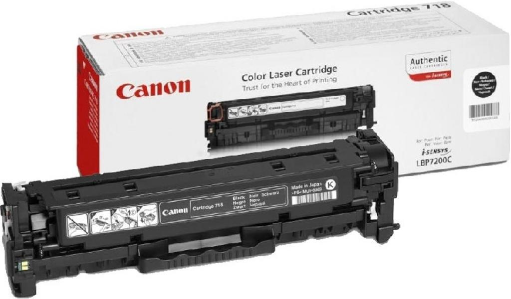 Картридж Canon (718/НР СС530A) LBP-7200/MF-8330/8350 Black ColorWay