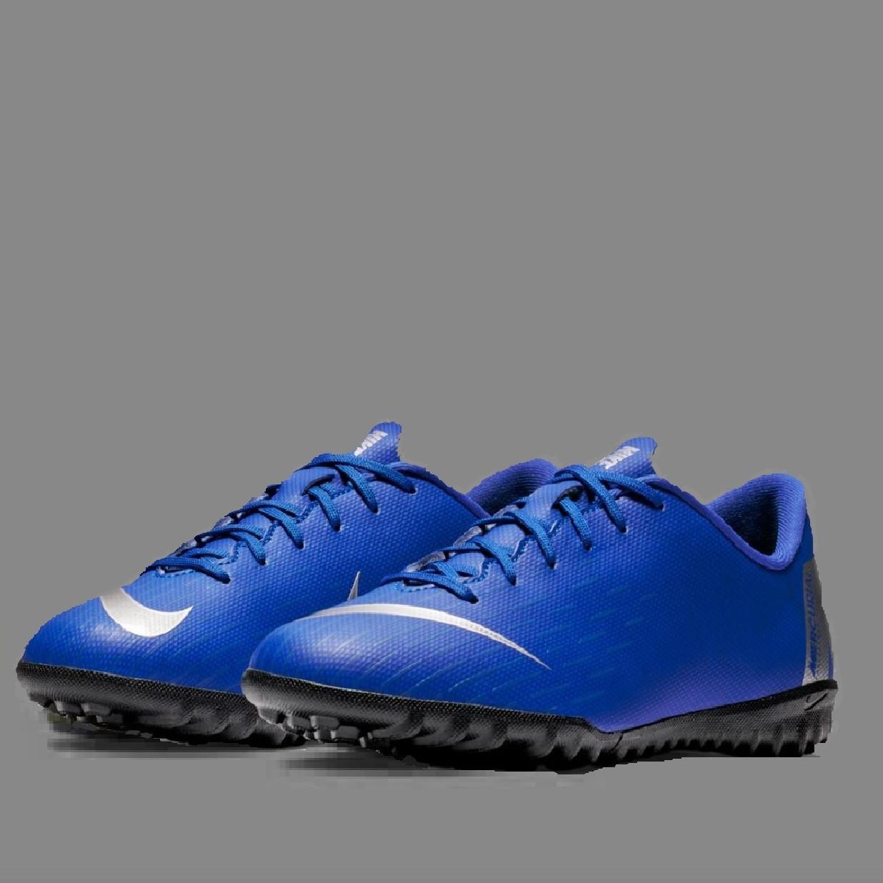 Детская футбольная обувь (сороконожки) Nike Mercurial VaporX 12 Academy GS TF Junior