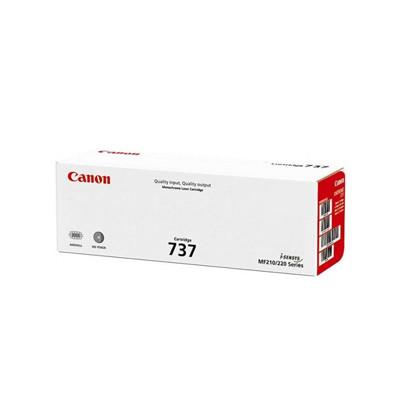 Картридж Canon 737, Black OEM пустой первопроходец