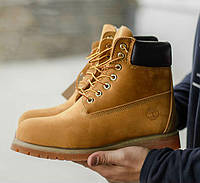021b87068f09 Timberland 6 inch Yellow Boots (USA)   ботинки с мехом  мужские и женские