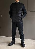 Мужской зимний спортивный костюм Adidas Porsche Design зима флис/плащевка