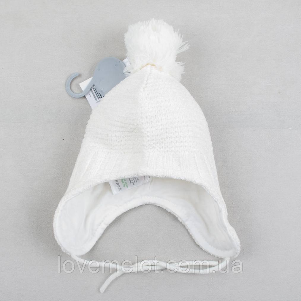 """Дитяча шапка на підкладці зима-осінь для новонародженого шапочка для 0-3 і 12-18 місяців """"Повітря"""""""