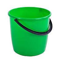 Ведро пластиковое 10л модерн без крышки, фото 1