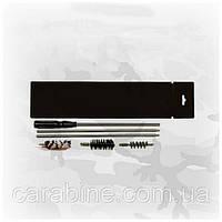 Набор для чистки гладкоствольного оружия 12 калибра (ПВХ упаковка, шомпол, 3 ерша) арт 12008