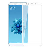 Стекло Premium на весь экран для Xiaomi Mi A2 / Mi 6X (Сяоми (Ксиаоми, Хиаоми) Ми 6 икс)