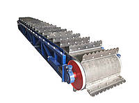 Конвейер Транспортер Ленточный для переработки Полипропиленовых мешков.