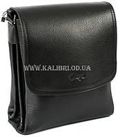 Сумка мужская через плечо натуральная кожа Karya 0724-45 черный Турция f1cc2d1a79251
