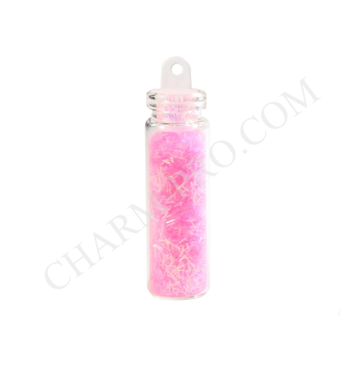 Присыпка соломка Mileo Розовая