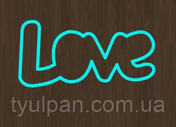 Вырубка кондитерская для пряника мастики марципана Love 2