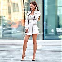 Женский костюм комбинезон шорты юбка и пиджак бомбер