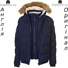 Куртка зимняя 2 в 1 SoulCal темно синяя из Англии