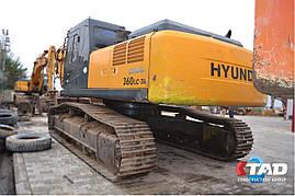 Гусеничный экскаватор Hyundai Robex 360LC-7 (2009 г), фото 3