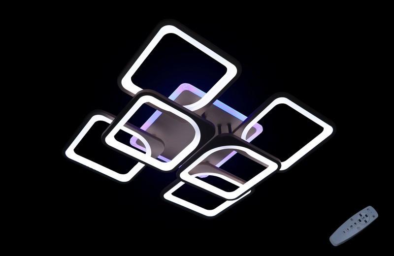 Люстра з різними режимами освітлення 5543/4+2 CF led dimmer