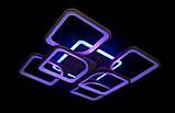 Люстра з різними режимами освітлення 5543/4+2 CF led dimmer, фото 2