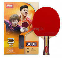 Набор для настольного тенниса DHS 3002: ракетка +чехол, фото 1