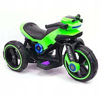 Електричний трицикл Police Green