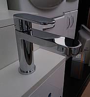 Смеситель для умывальника Cersanit ELIO с металлическим донным клапаном (хром)