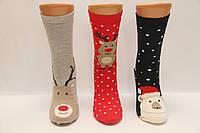 Женские новогодние махровые носки EKMEN, фото 1