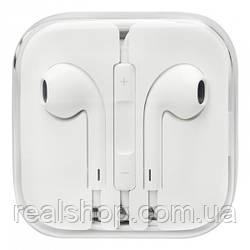 Наушники iPhone 5s на 3.5mm white (реплика)