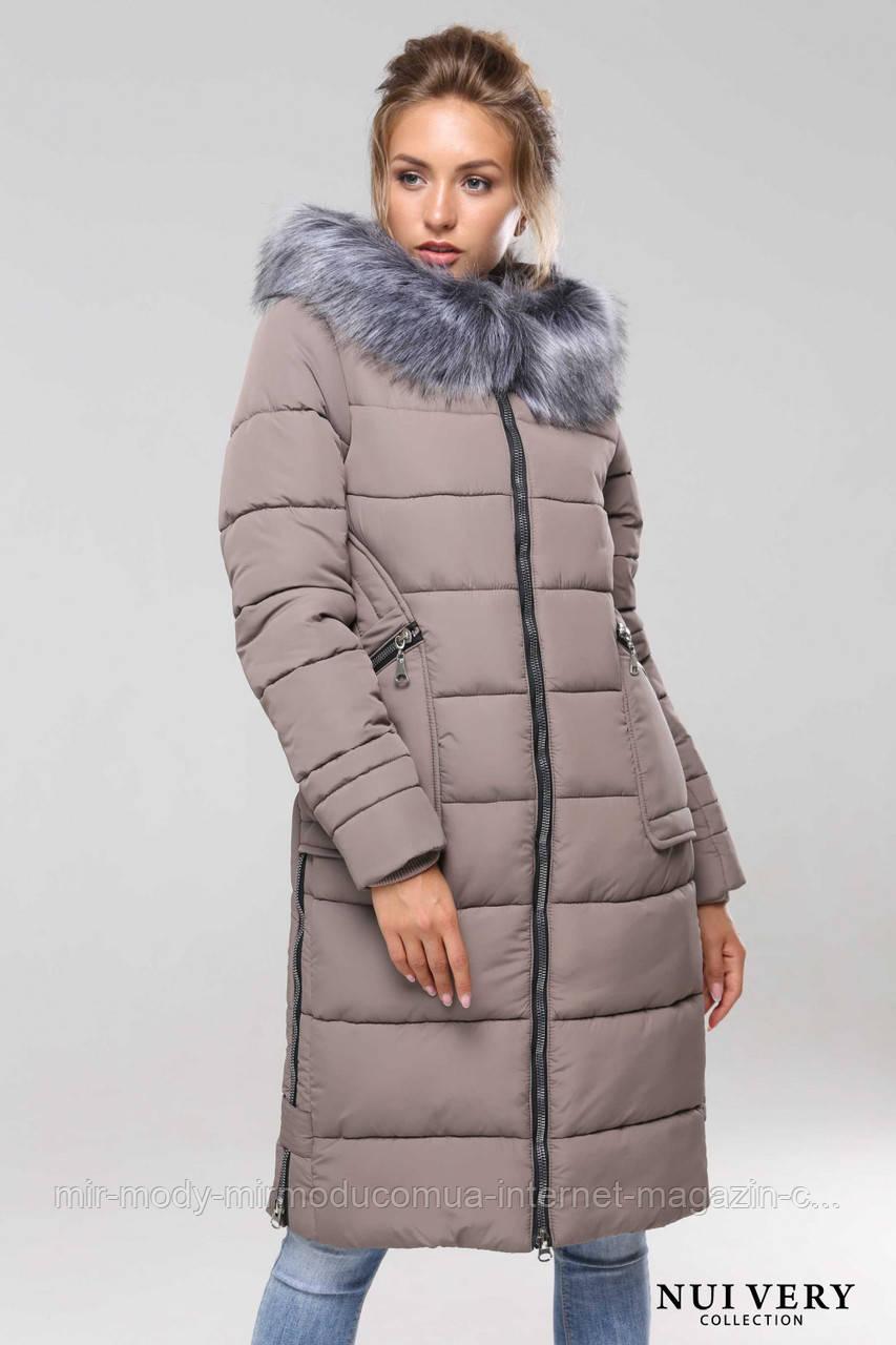 Пальто Пелагея-капучино № 578 с 42 по 56 размер(вр)