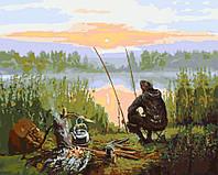 Картина по номерам - Отдых у реки