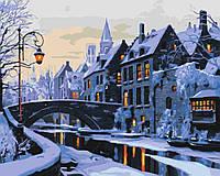 Картина по номерам - Прогулка по ночному городу