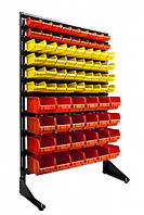 Стеллажи для склада (метизы)1800 мм (63 ящика среднего размера и 30 ящиков больших размеров)