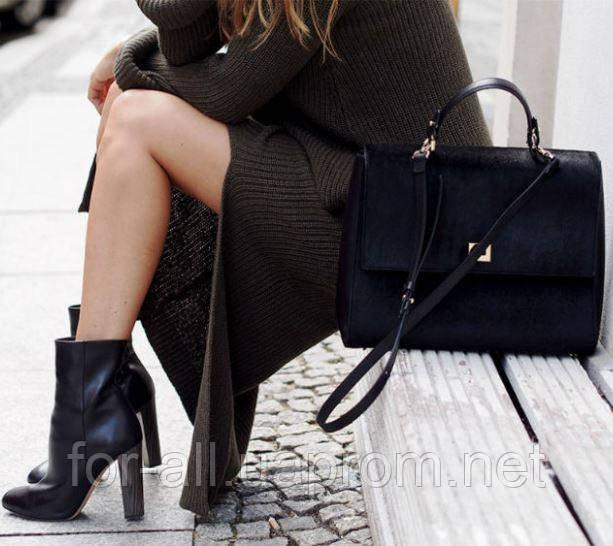 Фото Классической модели женской сумки для работы