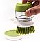Щетка для мытья посуды JESOPB с дозатором для моющего средства, фото 8