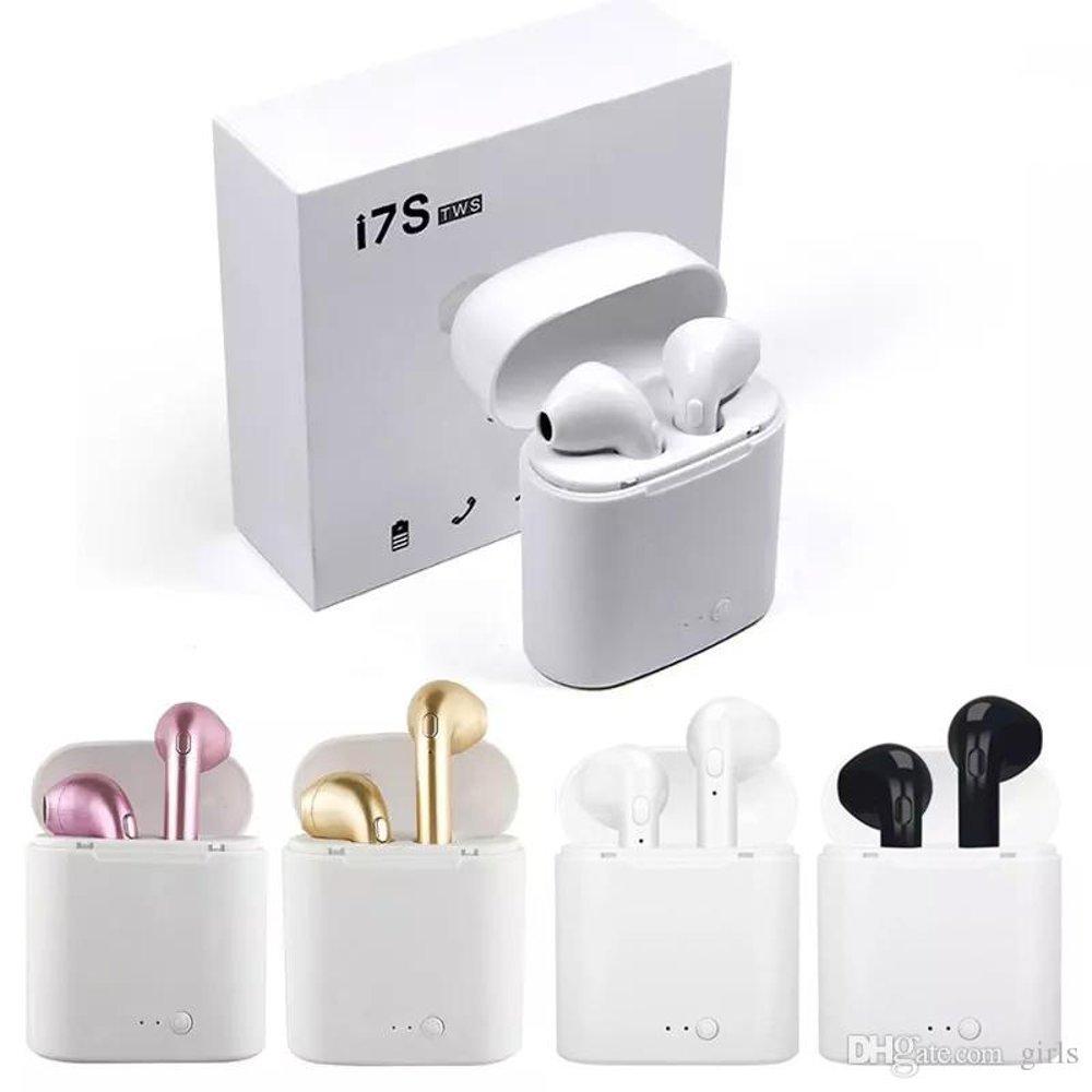 Беспроводные наушники I7s TWS Bluetooth c кейсом аналог a4843957de87a