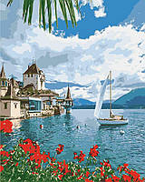 Картина по номерам - Утро в Швейцарии