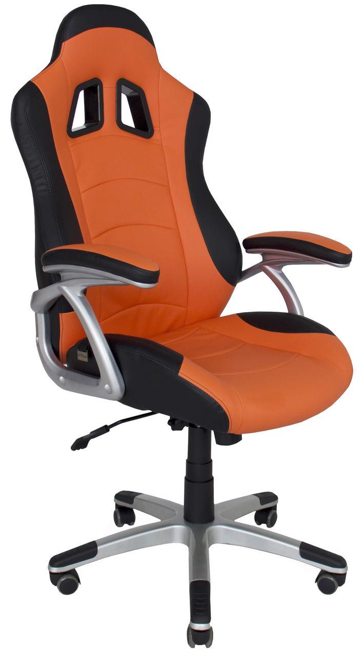 Кресло Либерти AnyFix черно-оранжевый