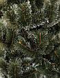 Искусственная новогодняя Сосна Микс 220см Белые кончики 2.2м заснеженная, фото 2