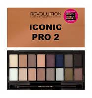 Палетка теней для век Makeup Revolution Iconic Pro 2