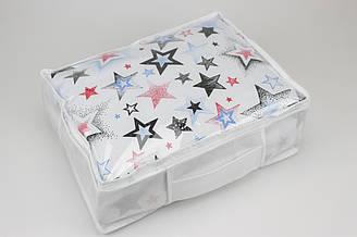 Упаковка для текстиля, сумка-упаковка для плед 27*37*10см №-ПВХ-1