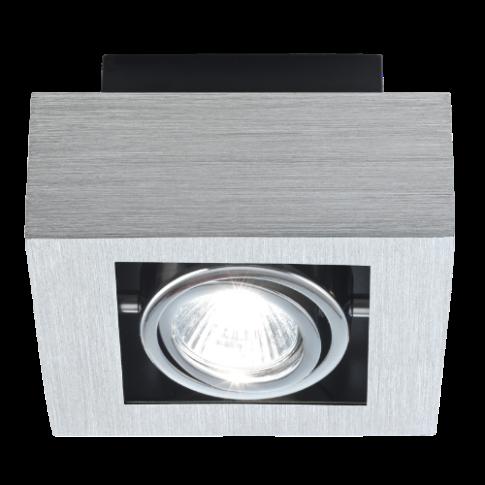 Точечный накладной светильник EGLO Loke 89075 1х35Вт GU10 металл/серебро