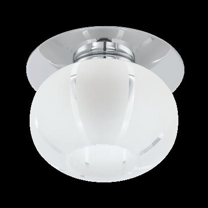 Точечный врезной светильник EGLO Tortoli 92686 1х20Вт G4 металл/серебро