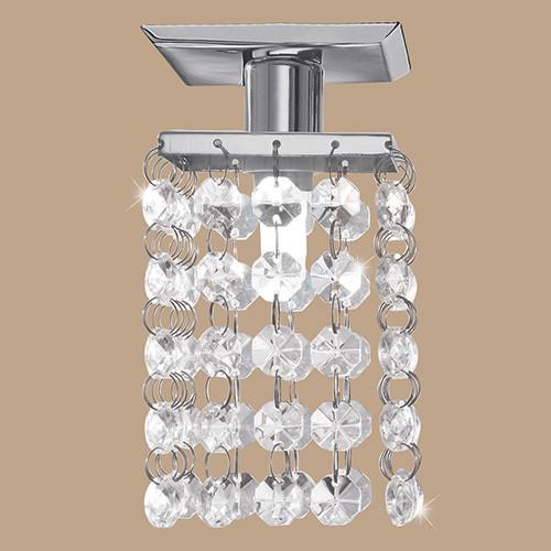 Точечный светильник встроенный 85327 EGLO Pyton 1х40Вт G9 хрусталь/хром.