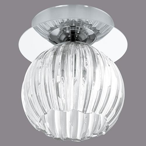 Точечный накладной светильник EGLO Civo 92851 1х40Вт G9 пластик/серебро