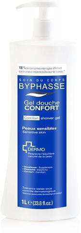 Byphasse гель для душа Comfort Dermo 1л