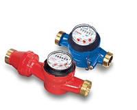 Счетчики Powogaz общедомовые для горячей воды, муфтовые JS-130-3,5 Ду25