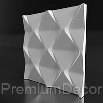 Гипсовые 3Д/3D панели АТРИУМ, фото 2