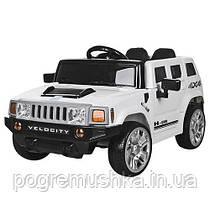 Детский электромобиль Машина «Hummer» M 3403EBLR-1 (Белый)