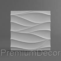 Гипсовые 3Д/3D панели НЕЖНОСТЬ, фото 3