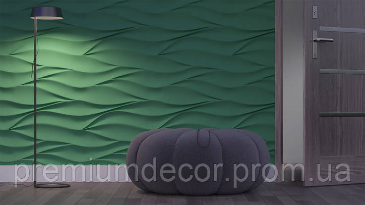 Гипсовые 3Д/3D панели НЕЖНОСТЬ, фото 2