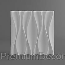 Гипсовые 3Д/3D панели БУТОНЫ, фото 3