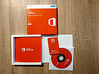 Офисный пакет Office 2016 Home and Business 32-bit/x64 Russian CEE DVD  BOX T5D-02703 вскрытый