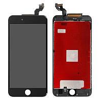 Модуль iPhone 6S Black черный дисплей экран, сенсор тач скрин для телефона смартфона