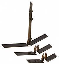 Плоскорез для мотоблока (3 пары ножей)