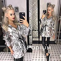 Женская стильная куртка-парка (расцветки), фото 1
